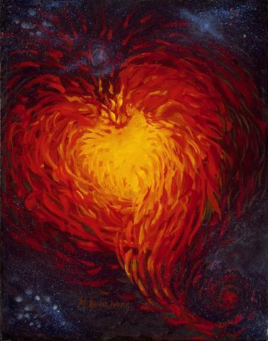 Heartfire Glicee Print